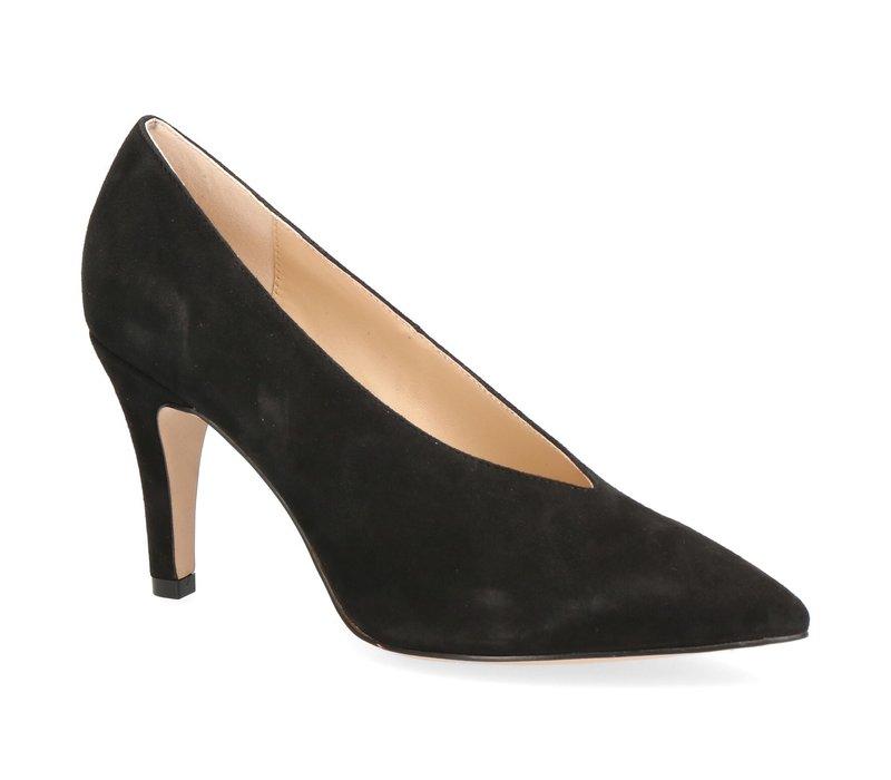 Caprice 22403 Black Suede Shoe