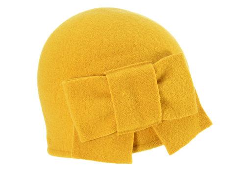 Seeberger Seeberger 011057/42 Mustard Wool Hat