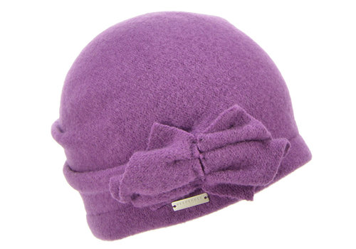Seeberger Seeberger 018045/73 Amethyst Wool Hat