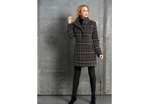 Junge Junge 0219-2607-11 Check Wool Jacket