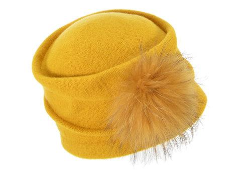 Seeberger Seeberger 037303-00287 Pom Pom Hat