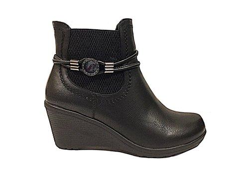 REDZ REDZ H3111 Black Ankle Boots