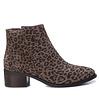 Carmela Carmela 66969 Taupe Leopard A/Boot