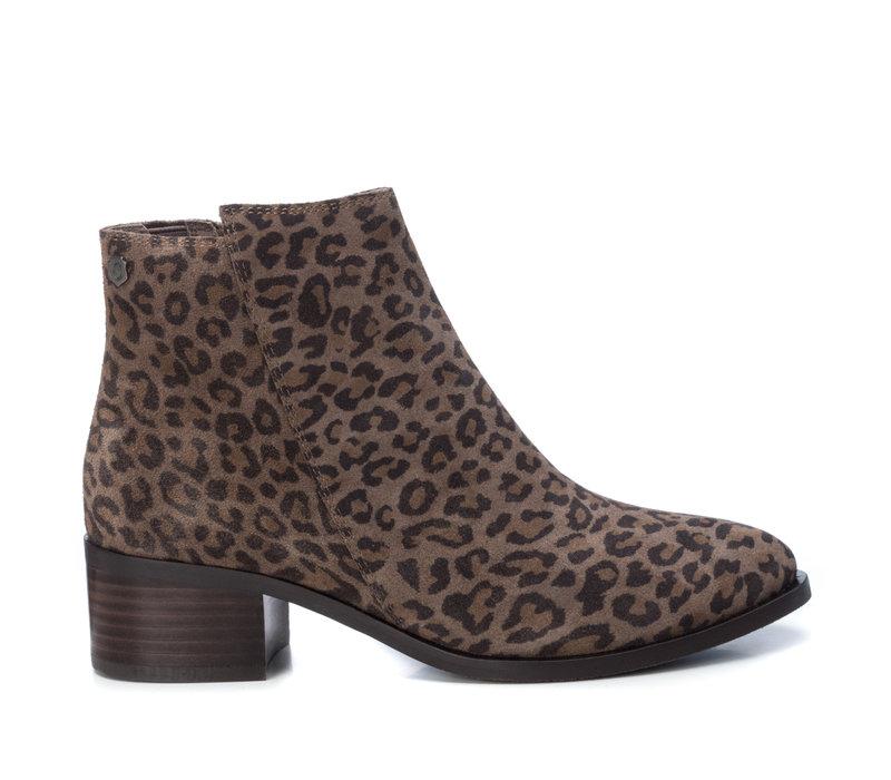 Carmela 66969 Taupe Leopard A/Boot