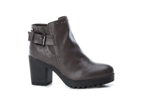 REFRESH A/W Refresh 69220 Grey Block Heel A/Boot