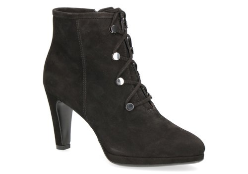 Caprice Boots Caprice 25103 Black Suede Ankle Boots