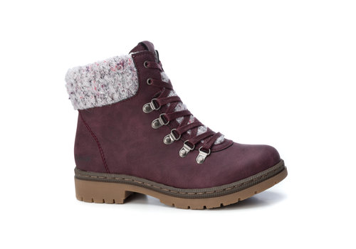 REFRESH A/W Refresh 69140 Burgundy Ankle Boots
