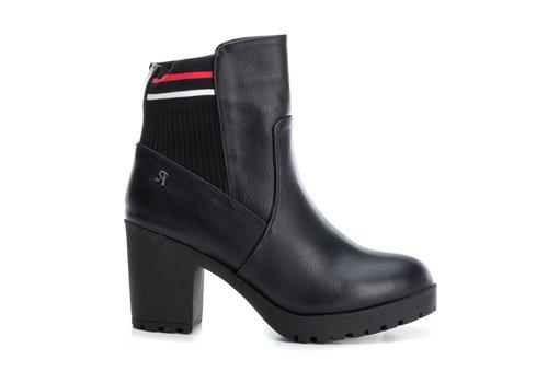 REFRESH A/W Refresh 69241 Black Block Heel A/Boot