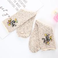 Peach SDK1032 Embellished Socks