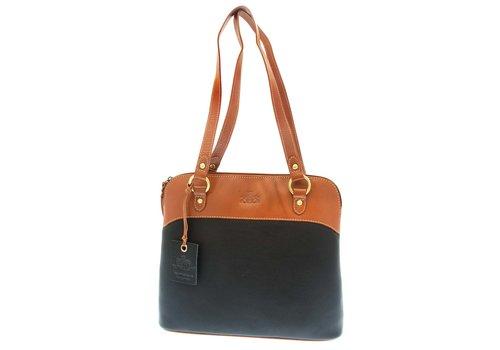 Rowallan ROWALLAN 31-9282 Blk/Tan Handbag