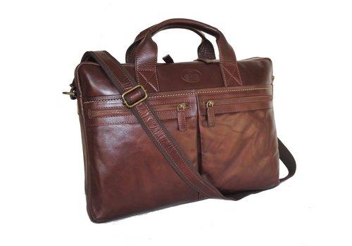 Rowallan Rowallan 32-1461/18 soft leather briefcase