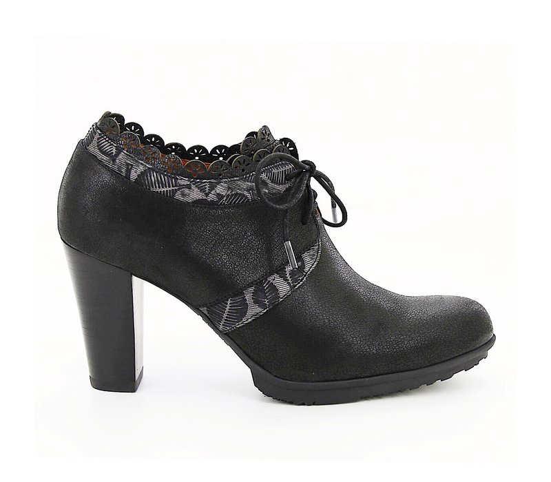 Mamzelle CN551 Black Shoe Boot