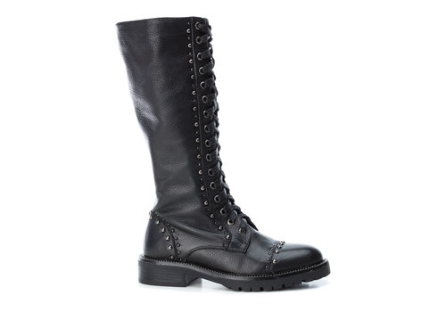 Carmela Carmela 66960 Black 3/4 studded boots