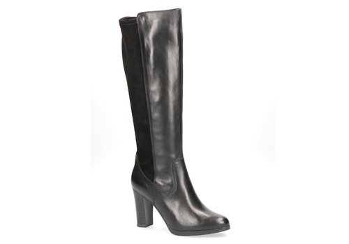 Caprice Boots Caprice 25513 Black Comb Knee High Boot