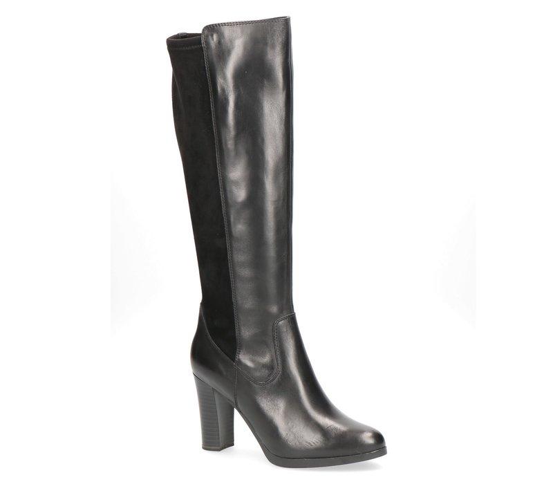 Caprice 25513 Black Comb Knee High Boot