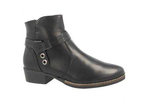 Heavenly Feet H.F. SASKIA Black A/Boot