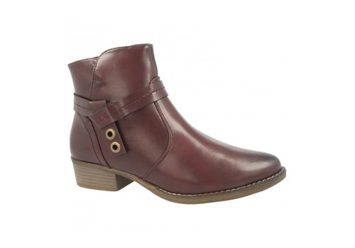 Heavenly Feet H.F. SASKIA Burgundy A/Boot