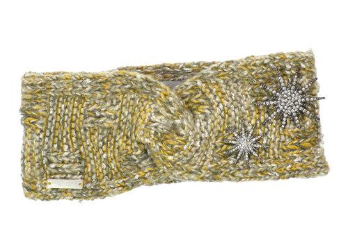 Seeberger Seeberger 017913/8742 Wool headband W/Brooch