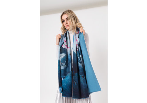 Pia Rossini Pia Rossini OKI Blue Scarf