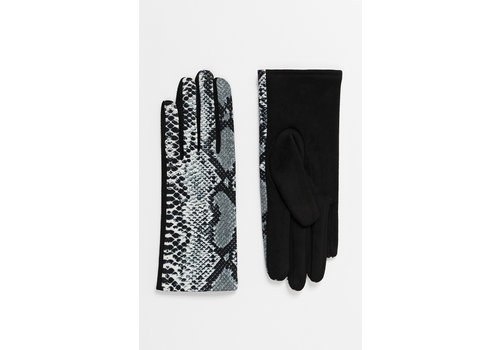 Pia Rossini Pia Rossini SHAY Snake print gloves