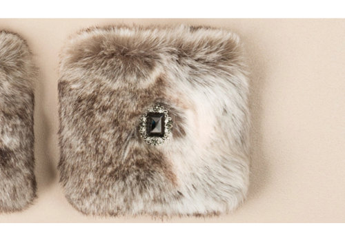Pia Rossini Pia Rossini MARILYN faux fur cuffs