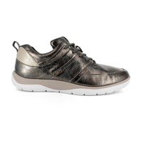 STRIVE MAINE Anthracite Laced Shoes