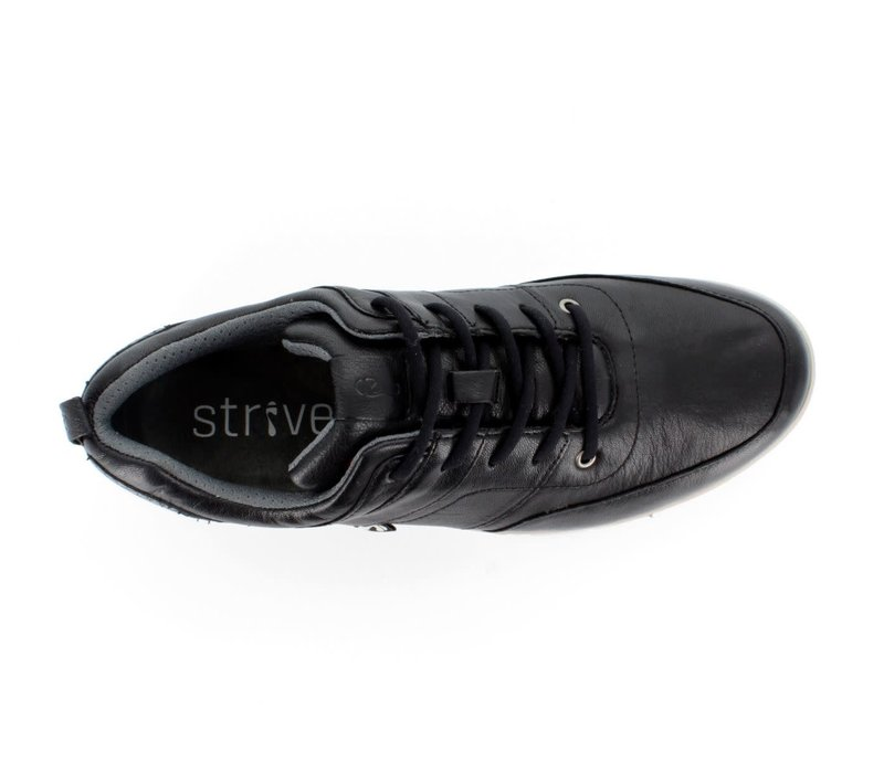 STRIVE MAINE Black/Black Lizard Laced