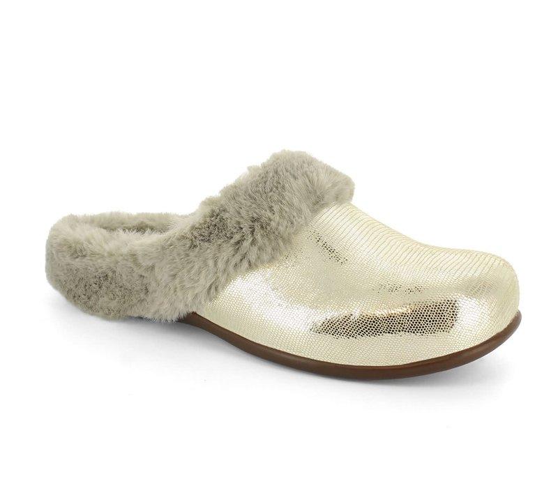 STRIVE OSLO Silver glamour Slipper