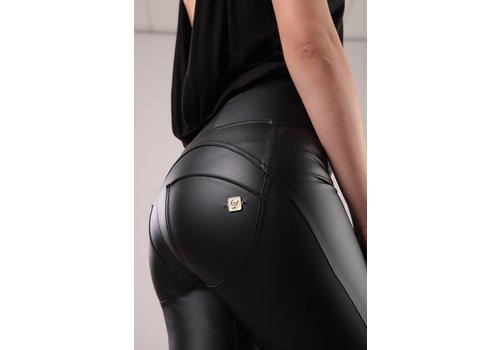FREDDY'S WRUP1HC006 Black faux Leather Hi waist