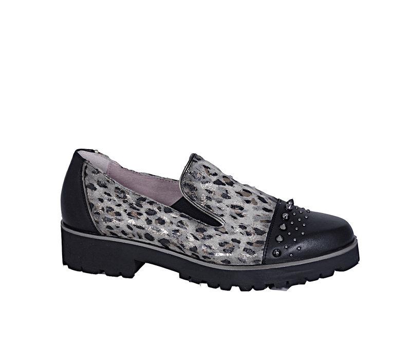 Maria Leon 1803/1T Black Comb shoe