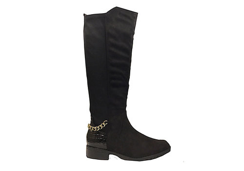 Sprox SPROX 484823 Black suede boot