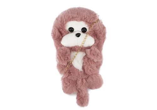 GESSY BAGS GESSY Little Monkey Backpack Pink