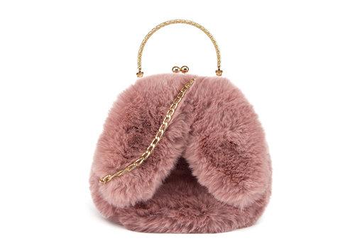 GESSY BAGS GESSY Bunny Ears Pink shoulder bag