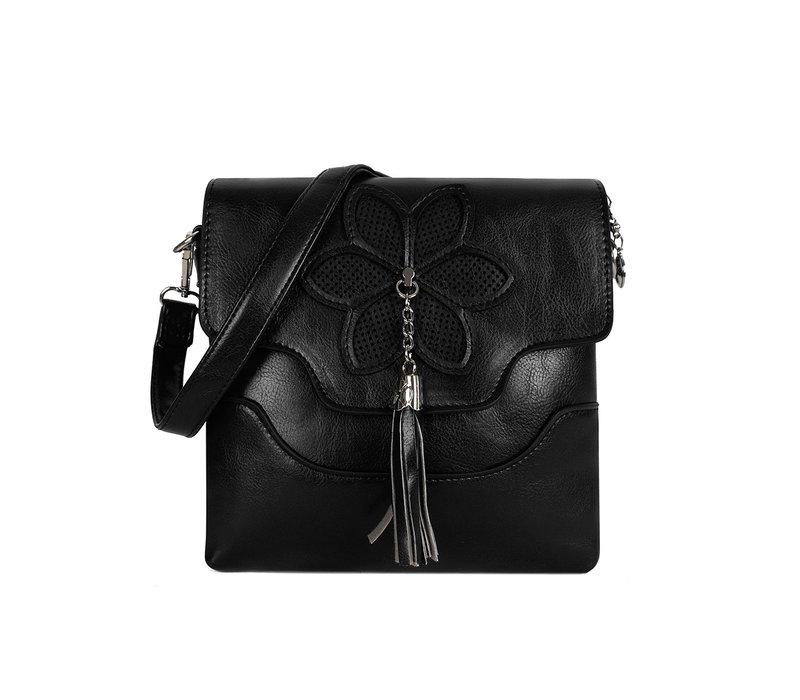 GESSY 2212 Cross Body Bag in Black