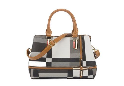 GESSY BAGS GESSY F2228 Handbag in Tan