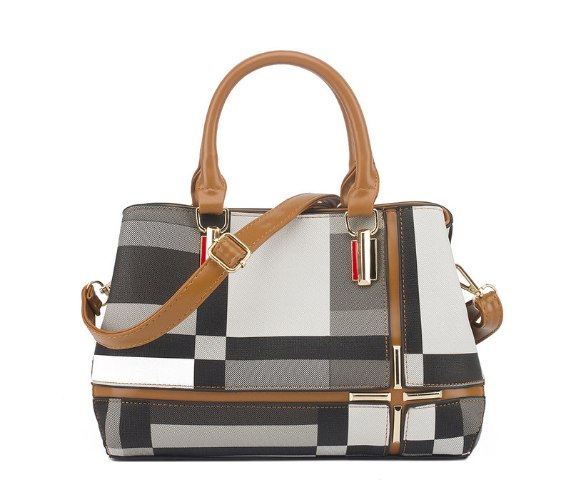 GESSY F2228 Handbag in Tan