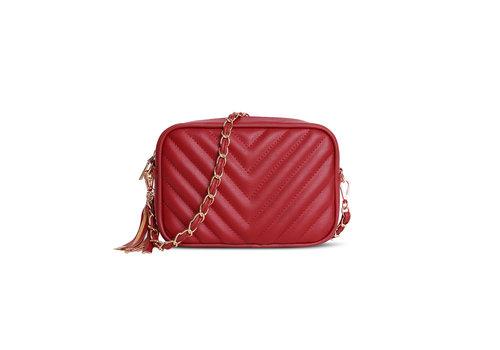 GESSY BAGS GESSY 833 Shoulder Bag in Red