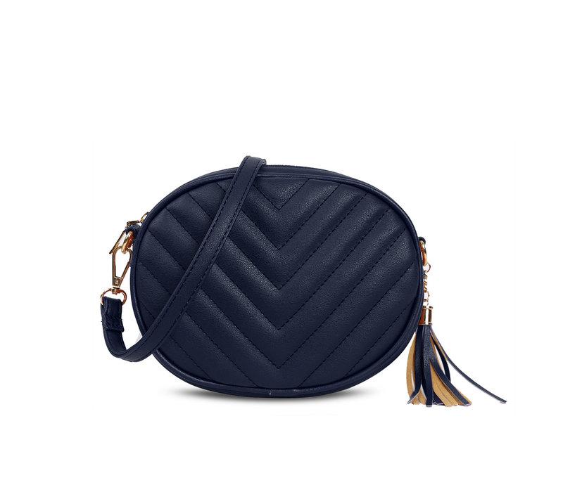 GESSY 836 Shoulder Bag in Navy