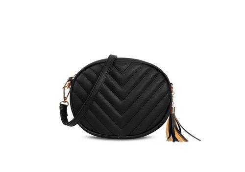 GESSY BAGS GESSY 836 Shoulder Bag in Black