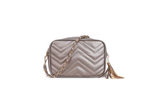 GESSY GESSY D833 Shoulder Bag in Pewter