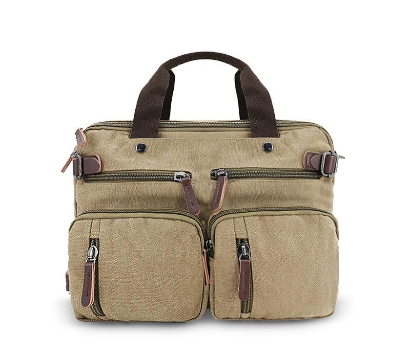 GESSY LB104 Business Bag in Khaki