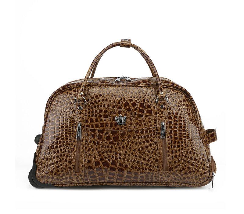 GESSY HT01TB Croc Travel Bag W/wheels