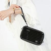 PEACH 190312 Black suitcase Bag