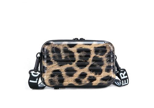 Peach Accessories PEACH 190312 Leopard suitcase Bag