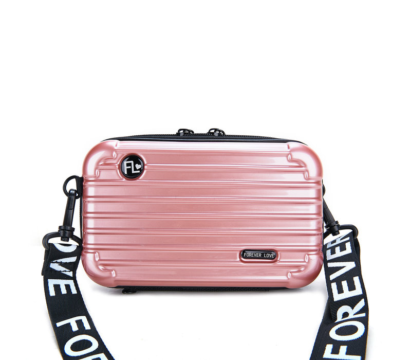 PEACH 190312 Pink Suitcase Bag