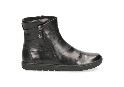 Caprice Boots Caprice 25468 Black Leather A/Boot