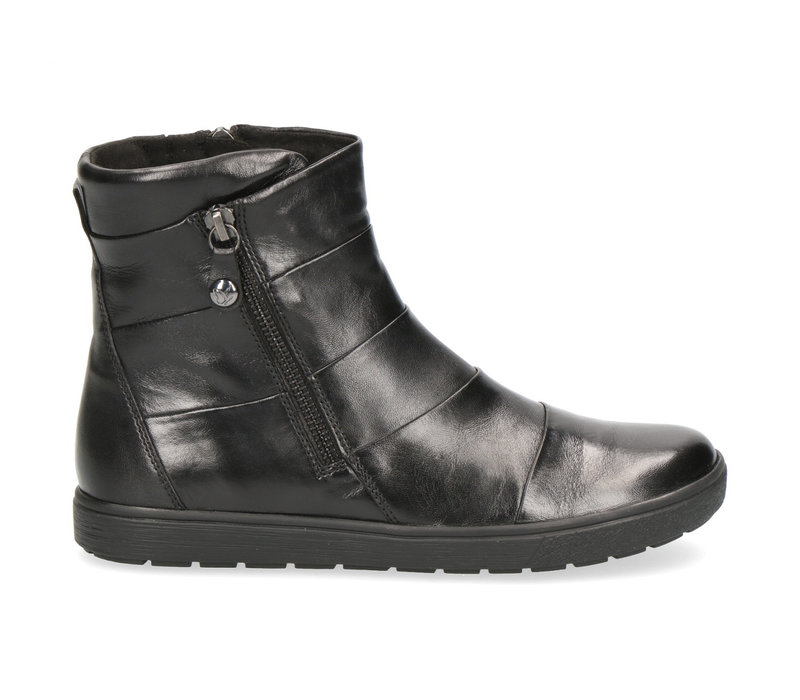 Caprice 25468 Black Leather A/Boot