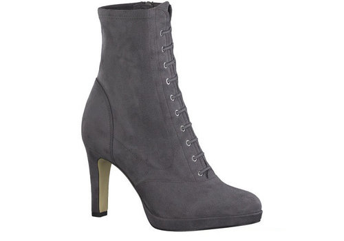 Tamaris A/W Tamaris 25104 Graphite suede ankle boot