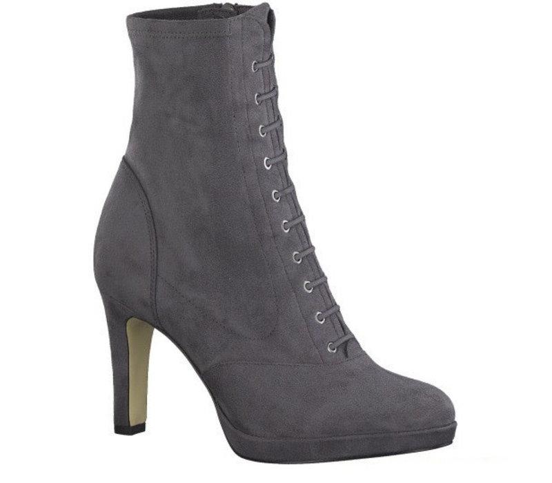 Tamaris 25104 Graphite suede ankle boot