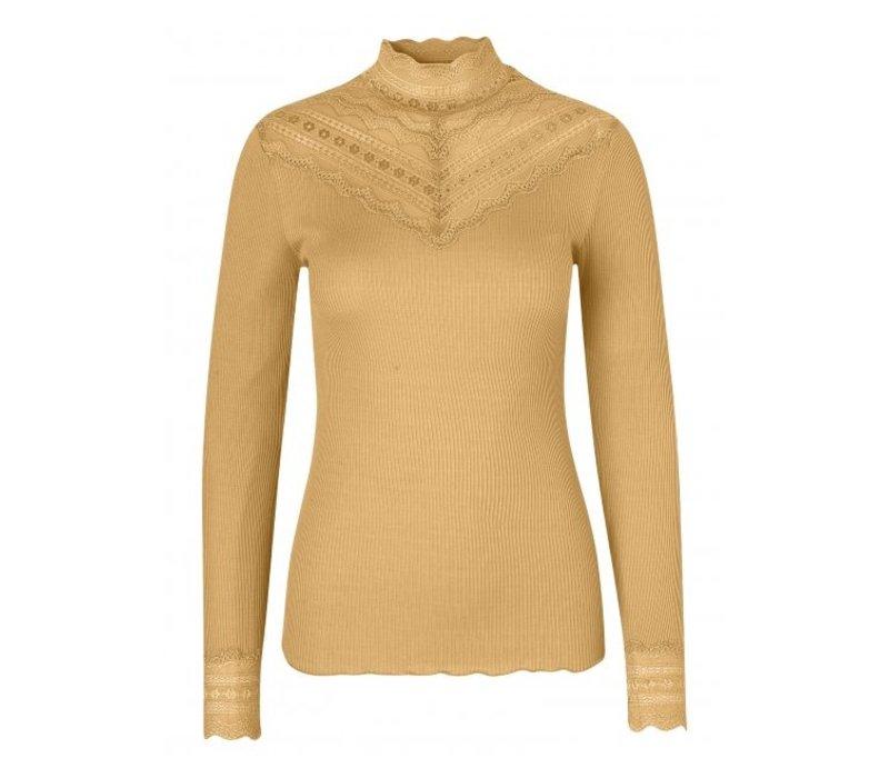Rosemunde 5023-618 High neck silk Top